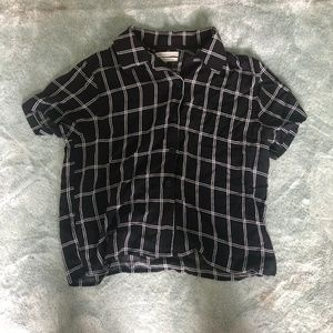 Urban outfitters patterned blouse